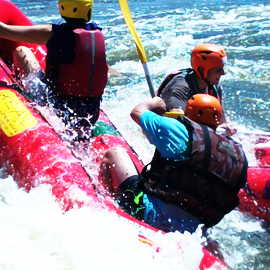 River Rafting for Bachelors